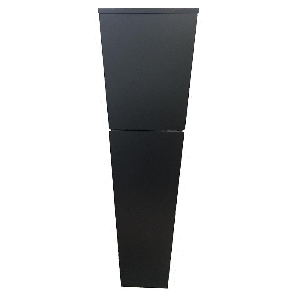 grafner designer edelstahl briefkasten standbriefkasten postkasten n733 ebay. Black Bedroom Furniture Sets. Home Design Ideas