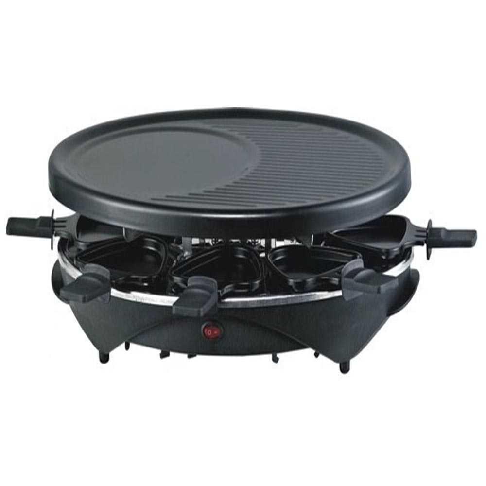 TOP COOK Raclette Grill 1200 Watt für 8 Personen