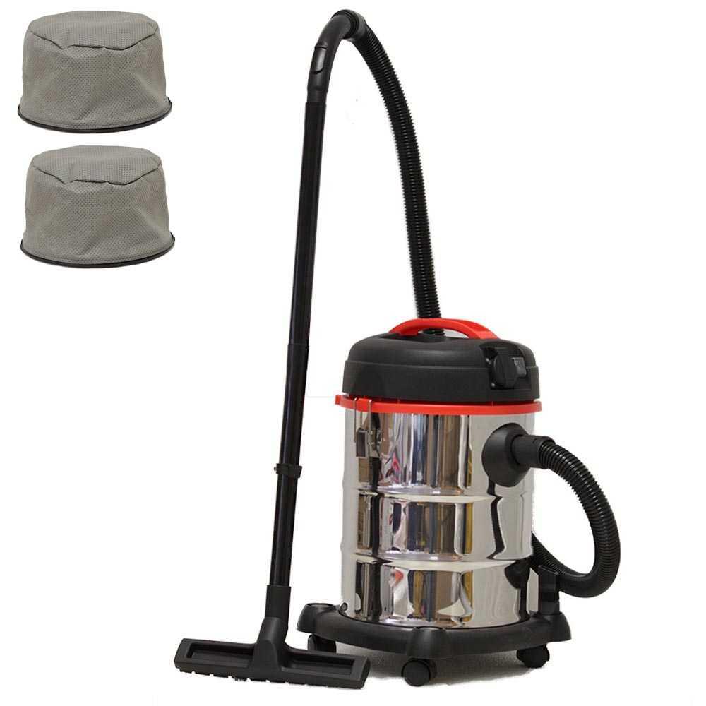 Grafner® Nass- und Trockensauger 30 Liter mit Ersatzfilter