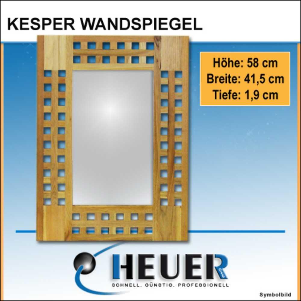 Wandspiegel Kesper Walnussholz Spiegel Badspiegel