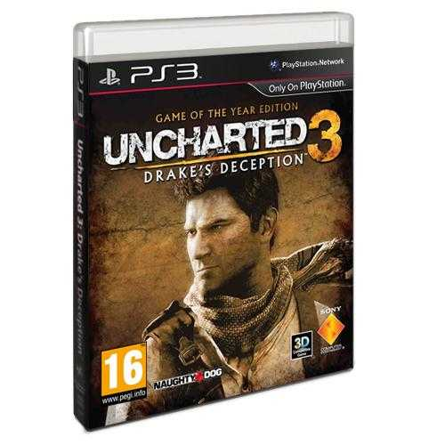 Uncharted 3: Drake's Deception Game für Playstation 3