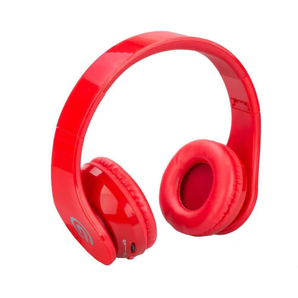 NINETEC Stereo9 Bluetooth Kopfhörer in Rot