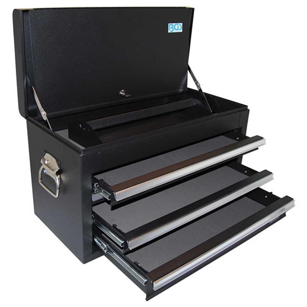 BGS 4001 Werkstattwagen Aufsatz mit 3 Schubladen Werkzeugkasten
