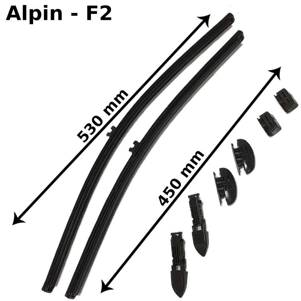 Alpin Scheibenwischer , Premium Line, F2, 2er Set