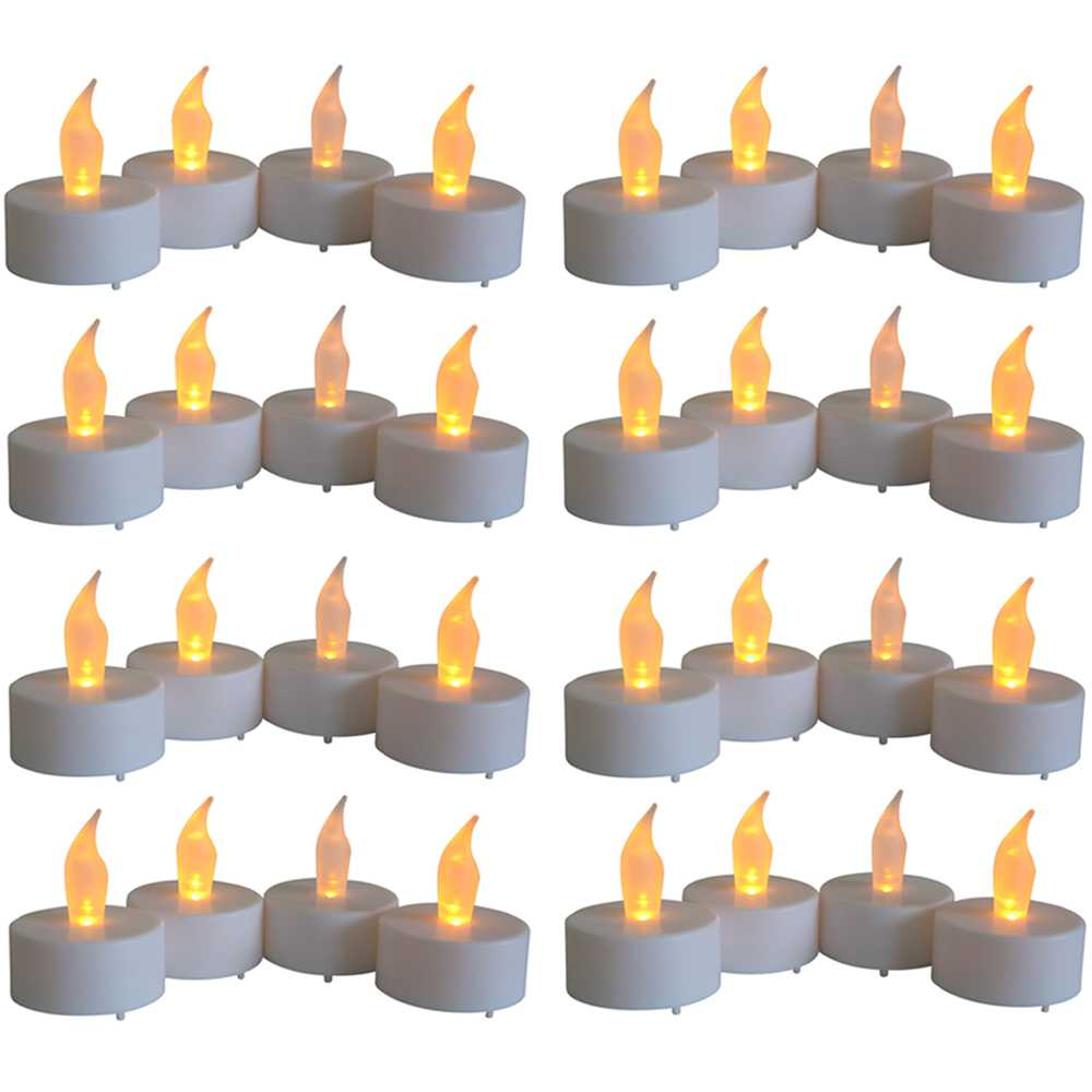 32er Set LED Teelichter inkl. Batterie