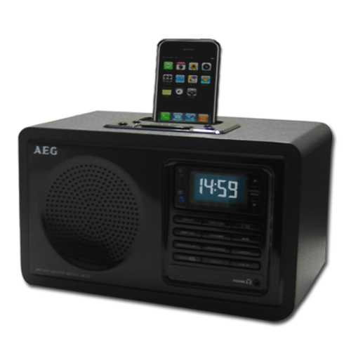 AEG MR 4115i Uhrenradio iPod iphone Docking Station