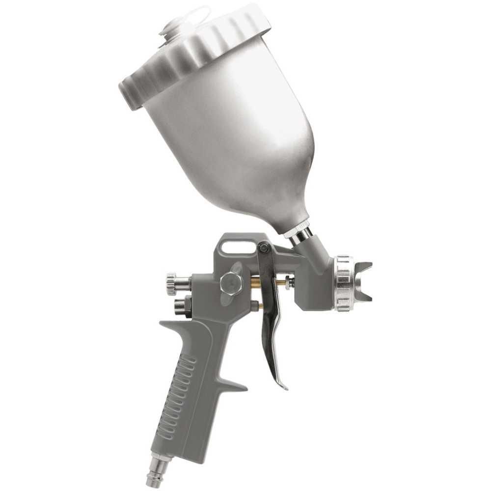 Vorel Druckluft-Lackierpistole 1,5mm Düse 680ml Kunststoffbehälter Spritzpistole