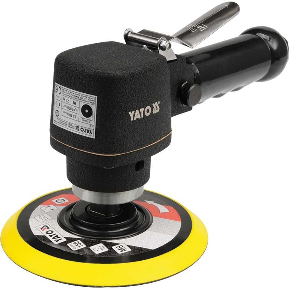 YATO Profi Druckluft-Excenterschleifer 150 mm