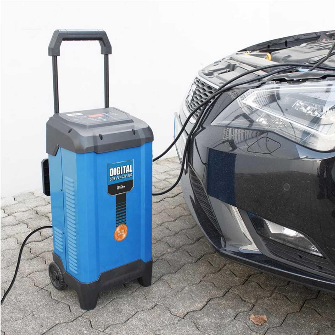 Güde Batterielader Digital GDB 24V/12V-200 - 85128