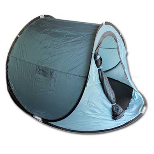 POP-UP-Zelt für 2 Personen Wurfzelt Zelt Popup-Zelt in blau