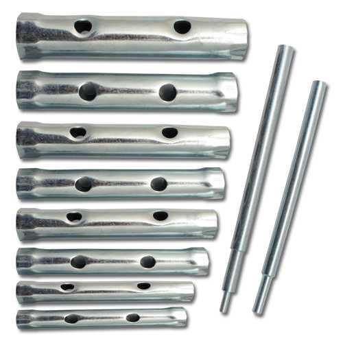 Rohrsteckschlüssel Rohrschlüssel Satz 10 tlg. 6-22 mm