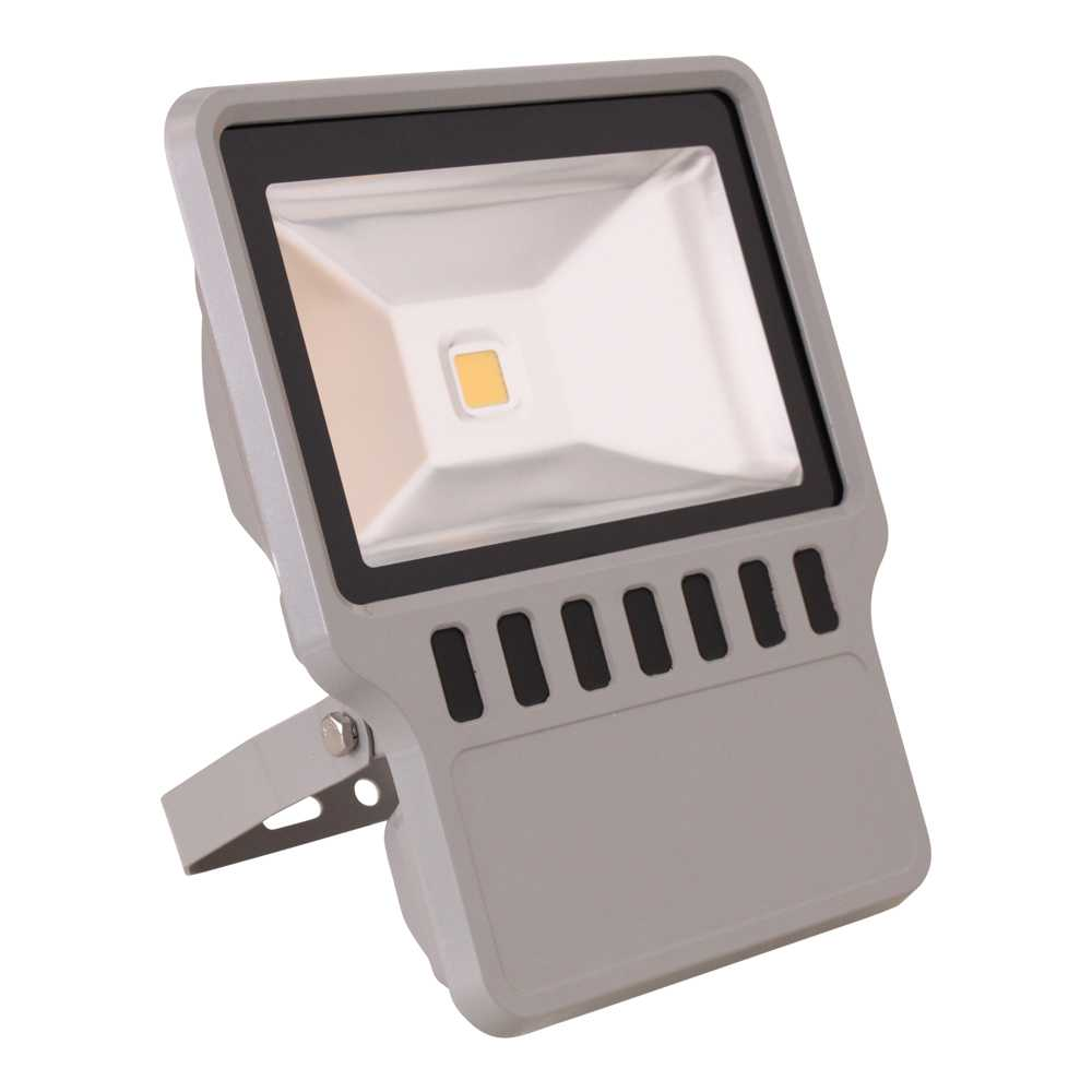 Grafner® LED Flutlichtstrahler Warmweiß 100 Watt Außenwandstrahler