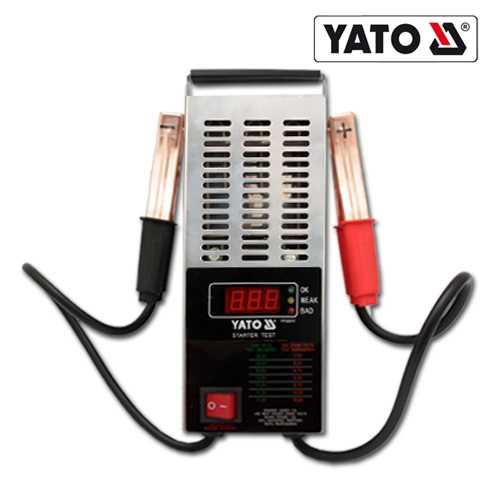 YATO Profi 12V digitaler Batterietester mit LED Display YT-8311