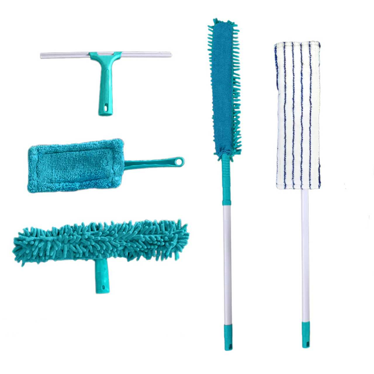 Microfaser Wischer Putz- und Reinigungsset