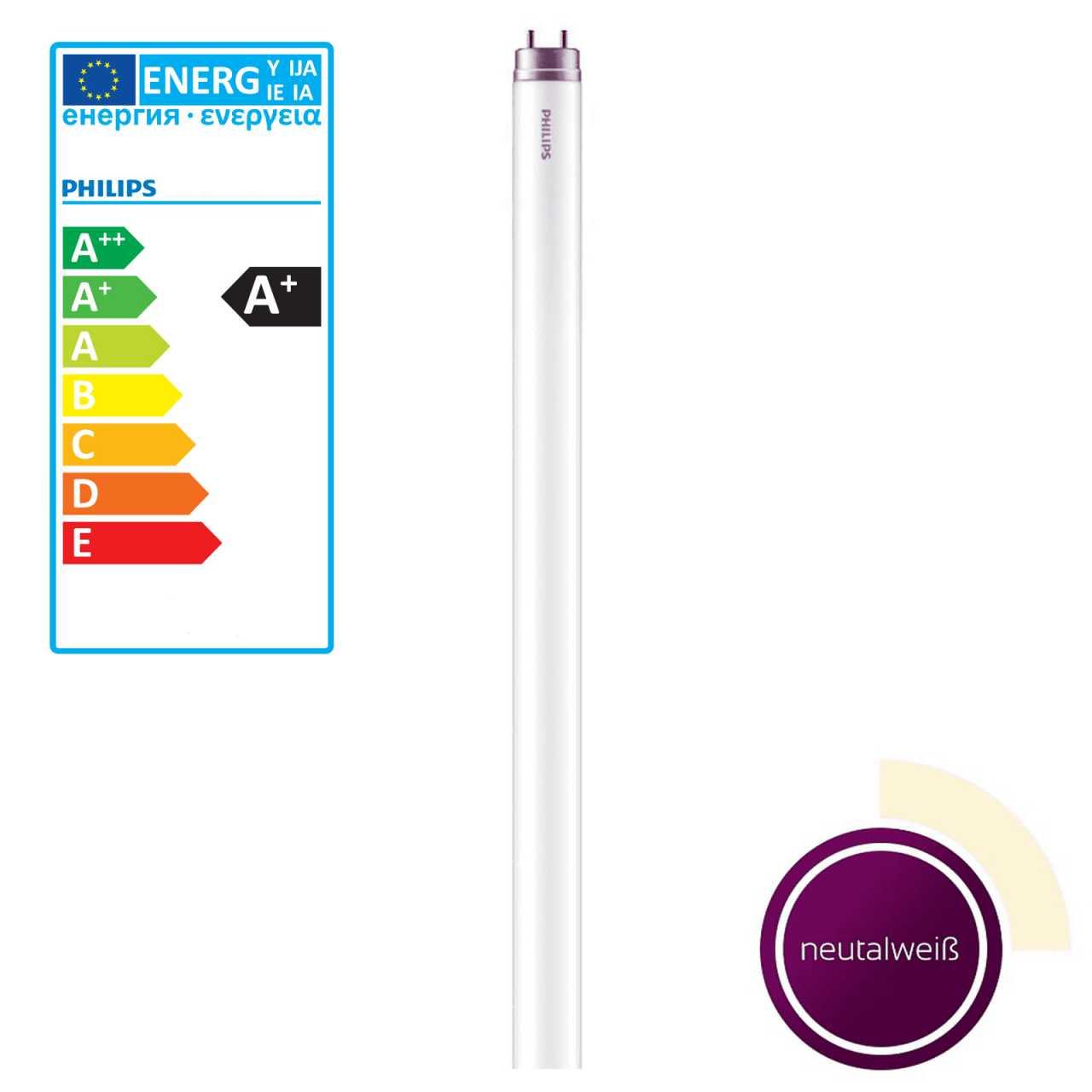 Philips LED Stabförmige Röhre 20 Watt G13 Neutralweiß