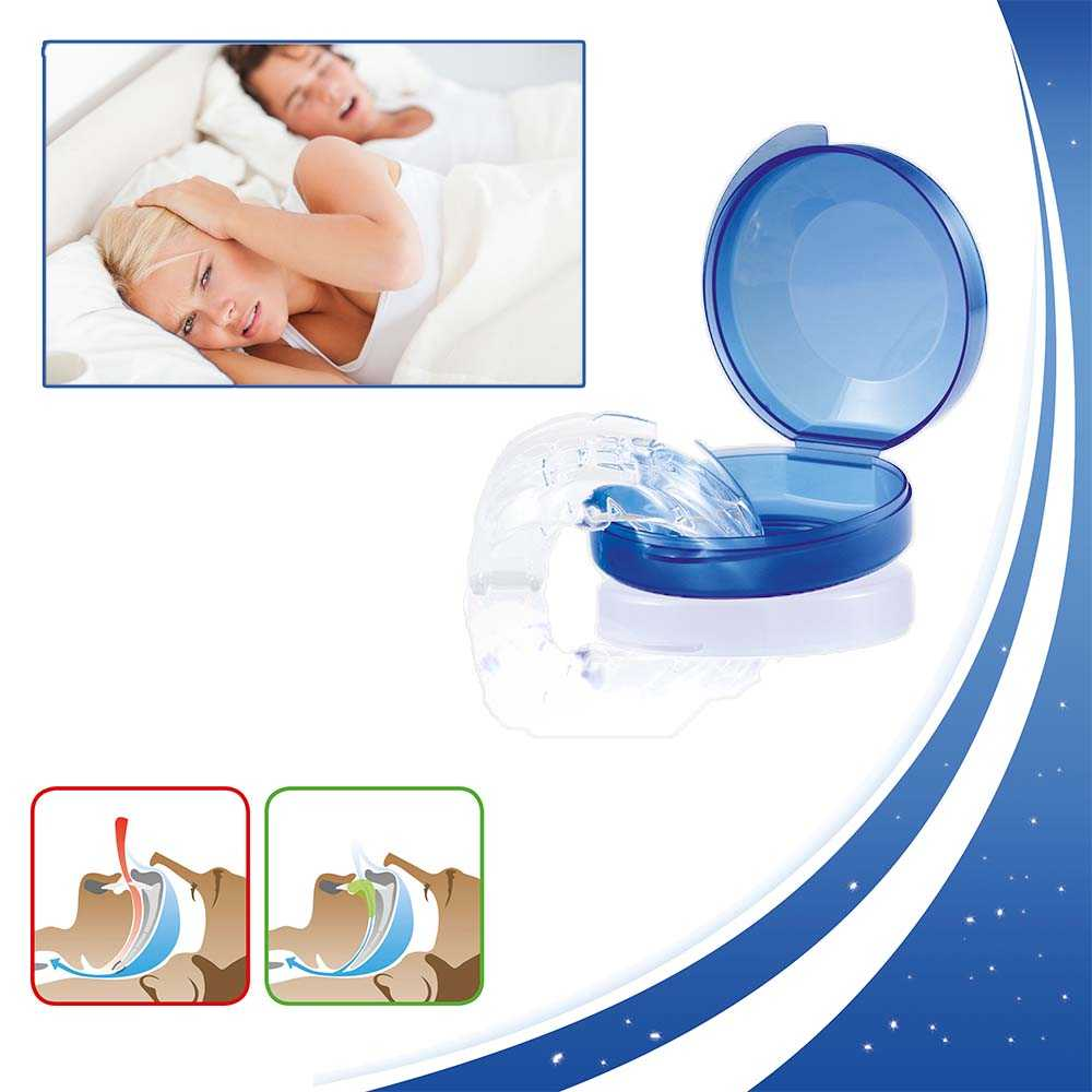 Teleshop Anti Schnarchschiene mit Hygienebox