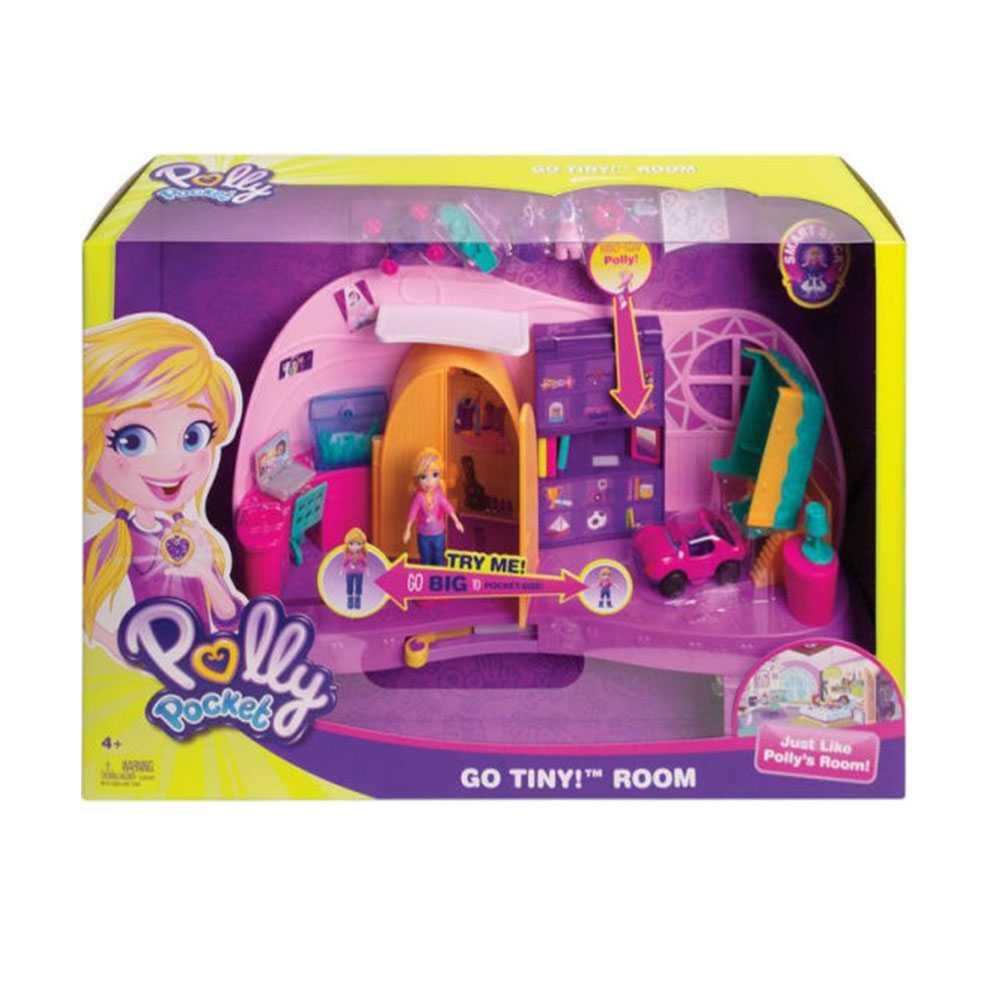 Polly Pocket Und Klein Zimmer Spielset Mit Polly Puppe Und Zubehör