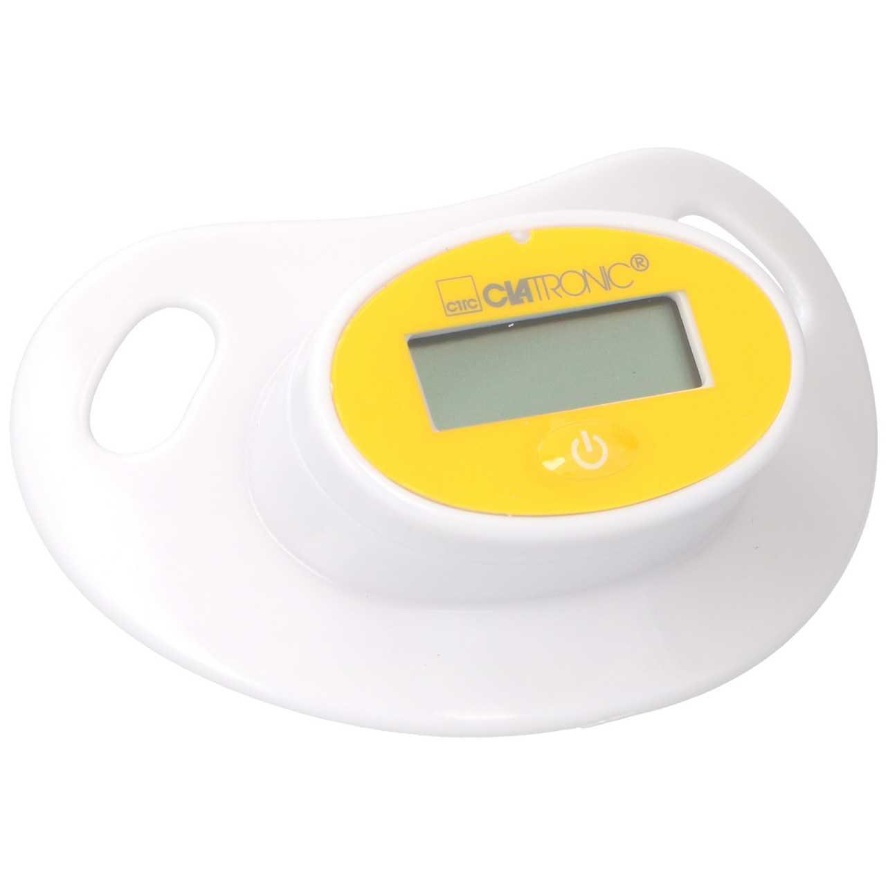 Clatronic Digitales Schnuller-Thermometer / Digitaler Nuckel mit Fieberthermometer