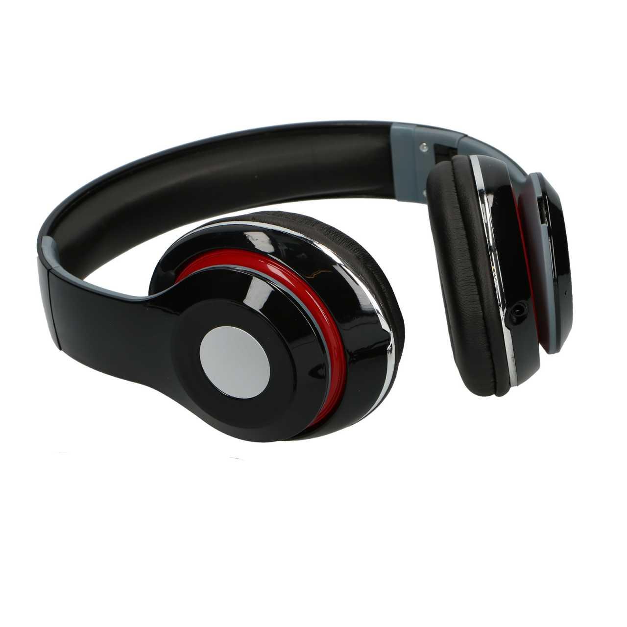 Soundlogic kabellose HD-Kophörer / Headset mit Bluetooth, Micro-SD, Mikrophon und FM-Tuner