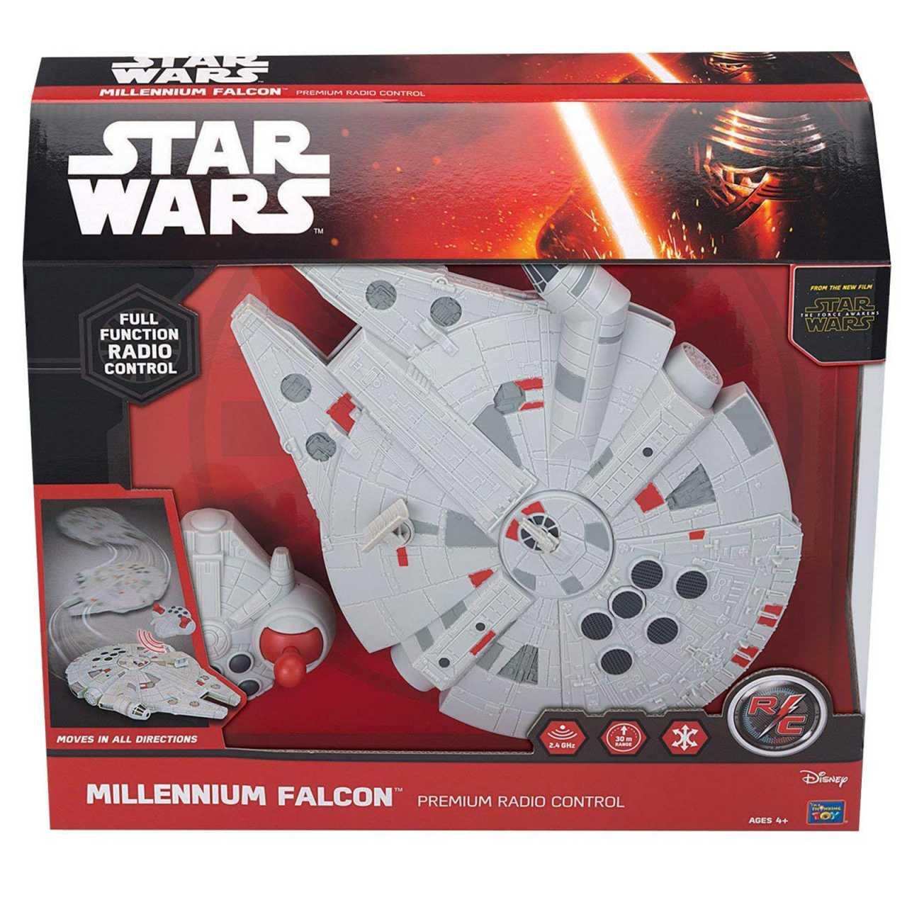 Star Wars RC Fahrzeug Millennium Falcon 13406 Ferngesteuert mit Licht- und Soundeffekten