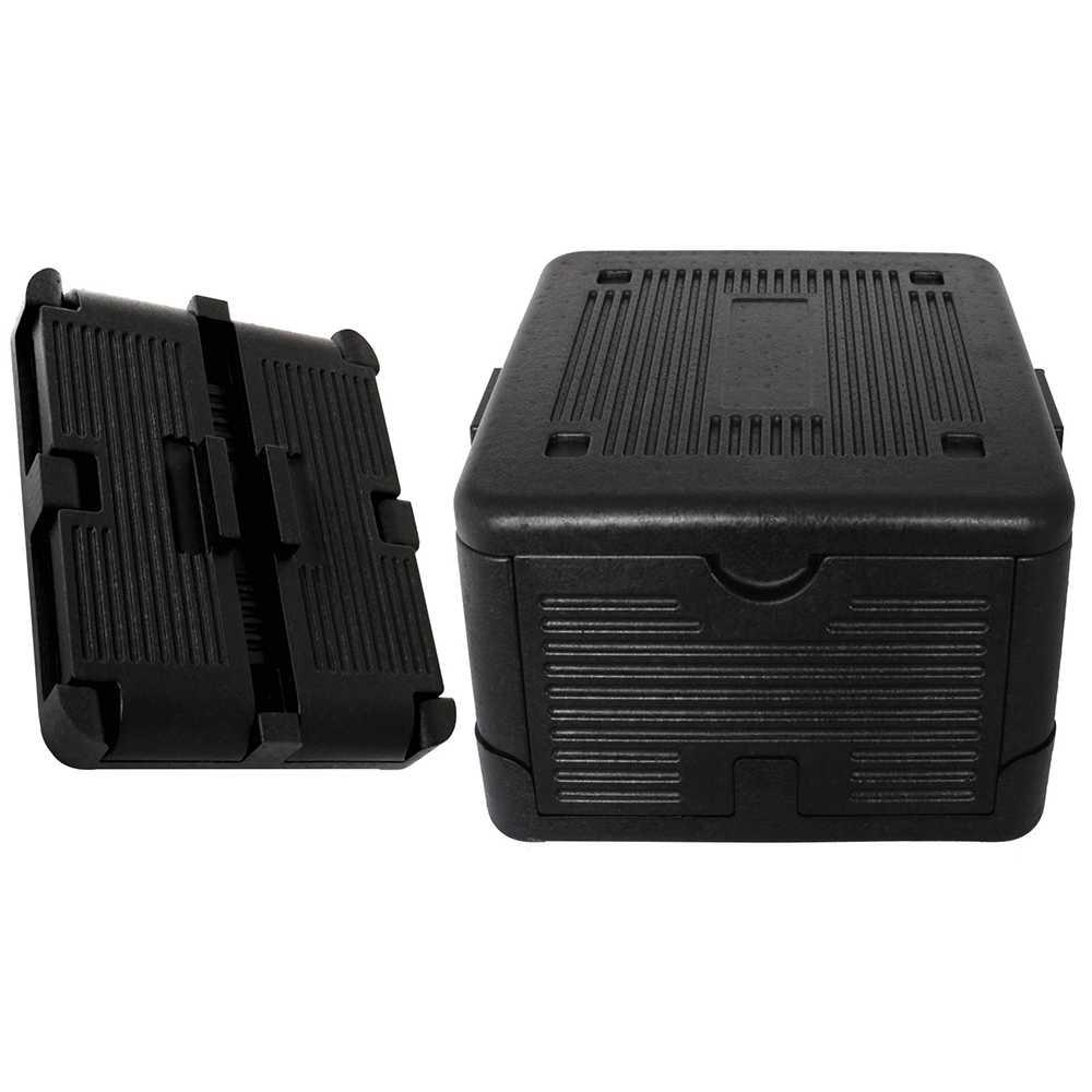 Klappbare Isolierbox 23 Liter Kühlbox Warmhaltebox