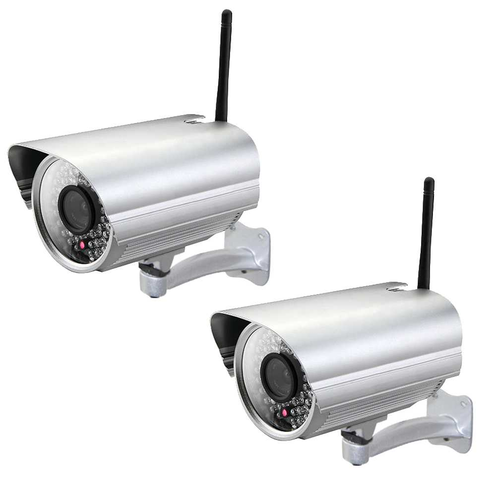 2er Set Zoelink Wireless Full HD IP Kamera ZL805-2MP