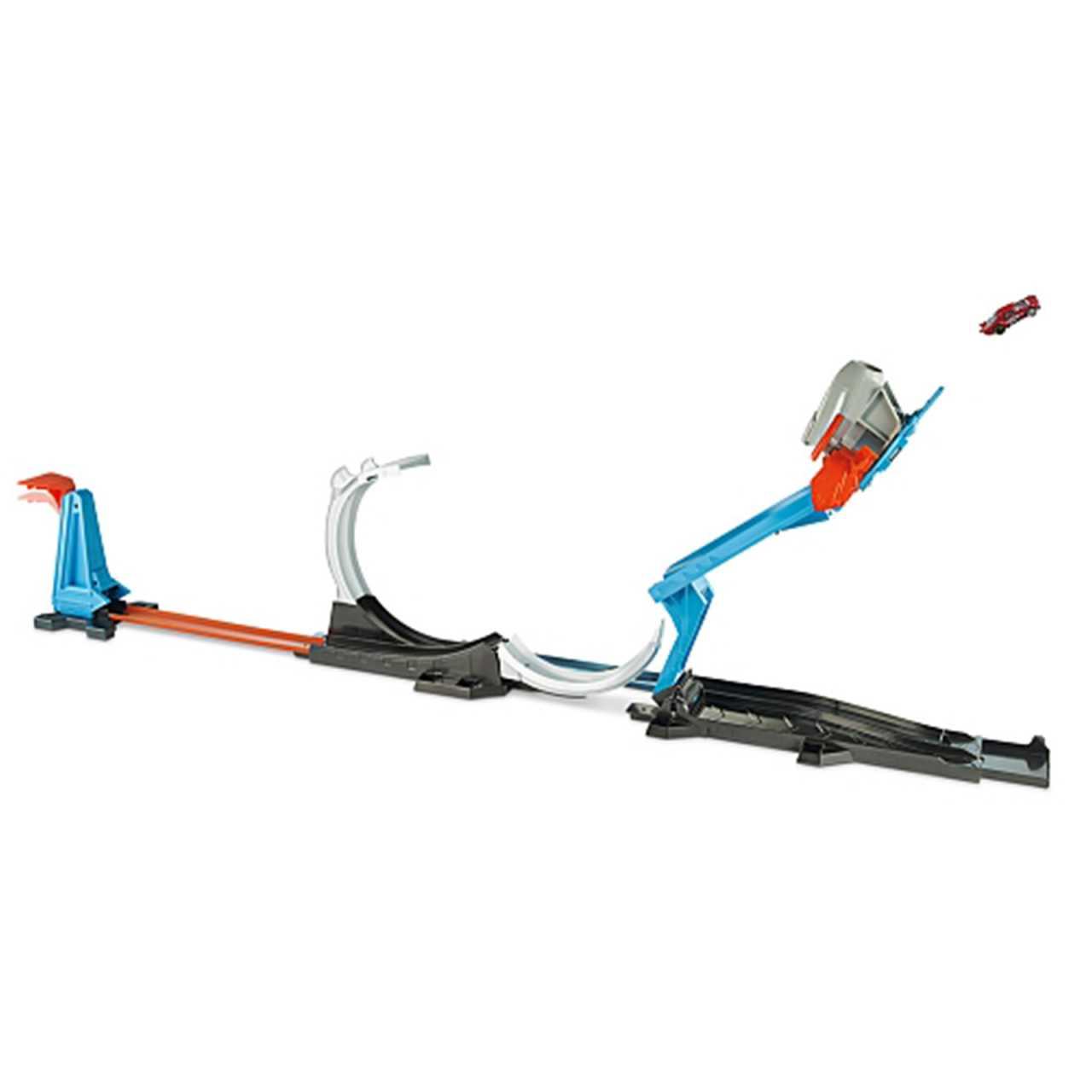 Mattel Hot Wheels Track Builder Raktenstart Herausforderung FLK60