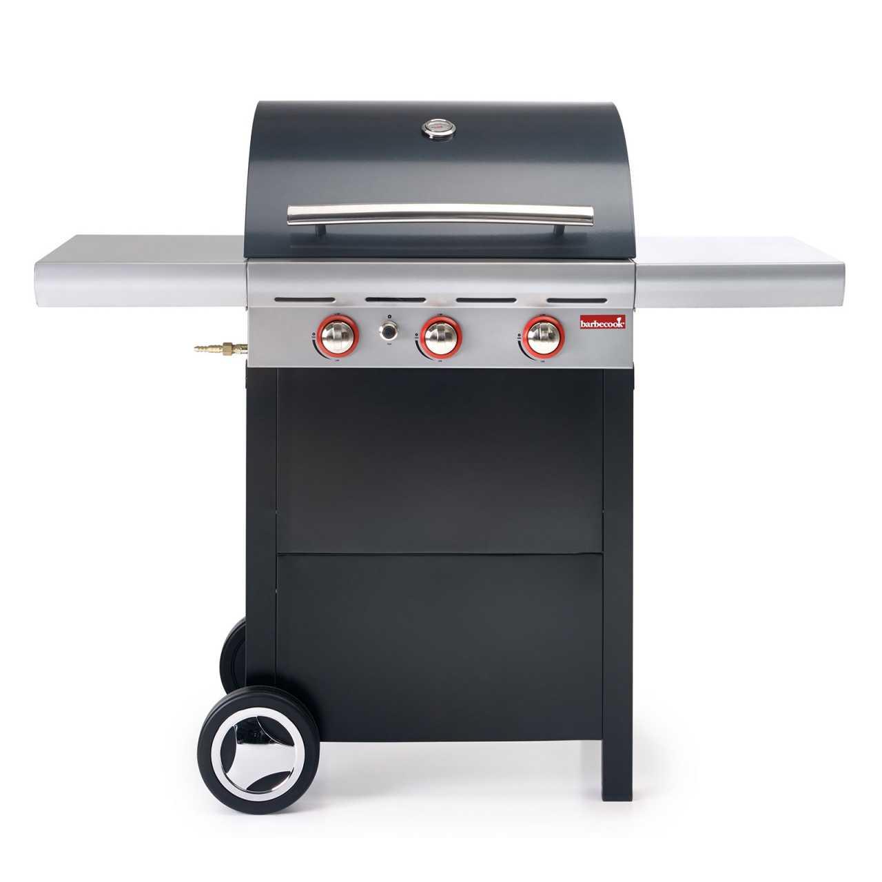Barbecook Gasgrill Spring 300 anthrazit BBQ Grillwagen 11,4kW
